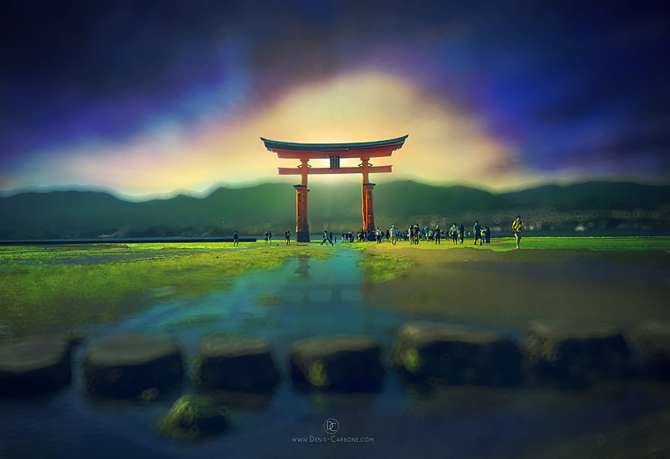 tilt-shift-itsukushima