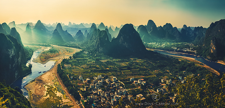 Guilin Hills in China