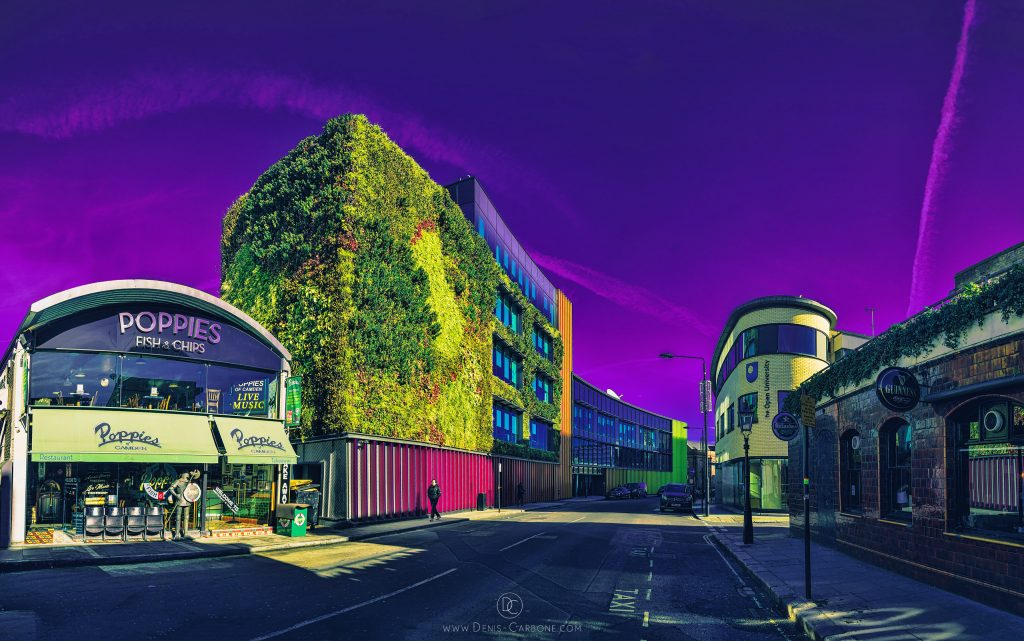 """Green Wall"" photographed and edited by Denis Carbone"